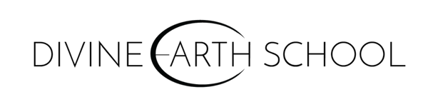 Divine Earth School Black Logo